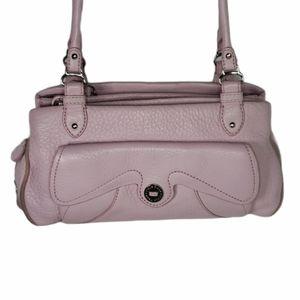 Cole Haan Pink Leather Handbag Purse x